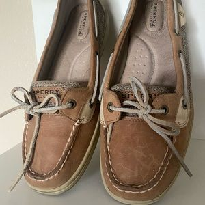 Like New Sperry Angelfish Top Siders Size 10